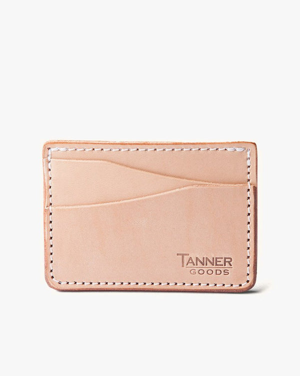 Tanner Goods Journeyman Wallet - Natural 12680LEATHER Tanner Goods Wallets & Key Fobs
