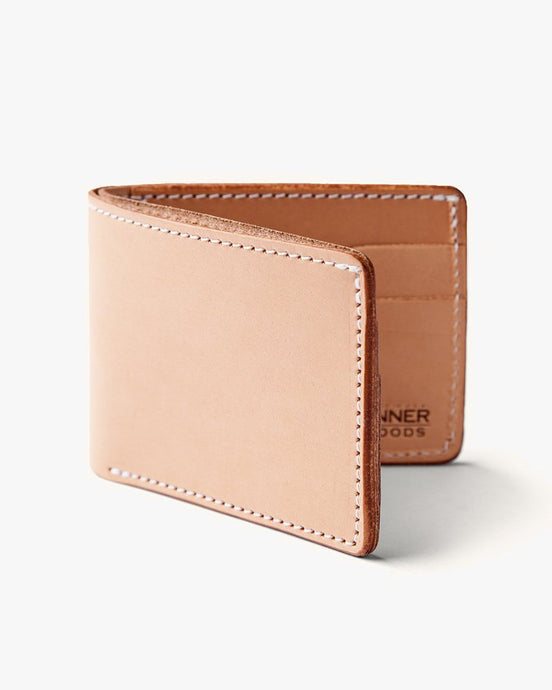 Tanner Goods Utility Bifold Wallet - Natural 17310LEATHER Tanner Goods Wallets & Key Fobs