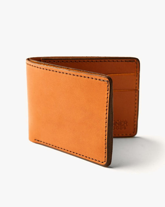 Tanner Goods Utility Bifold Wallet - Saddle Tan 27220LEATHER Tanner Goods Wallets & Key Fobs