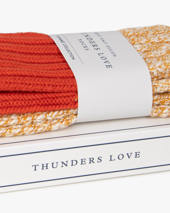 Thunders Love Cocktail Collection Socks - Orange 0470120 Thunders Love Socks