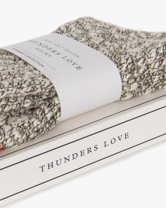 Thunders Love Flammé Collection Socks - Army Green 0400219 Thunders Love Socks