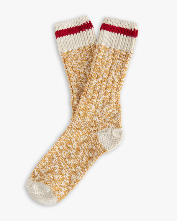 Thunders Love Flammé Collection Socks - Douglas Mustard 0460219 Thunders Love Socks