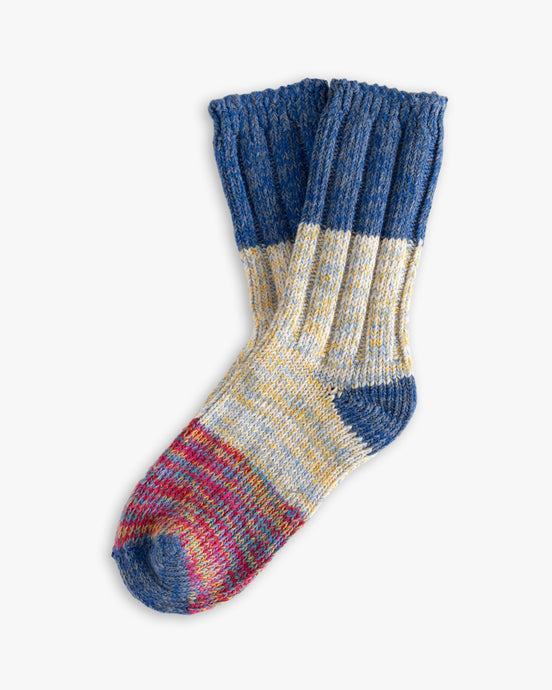 Thunders Love Helen Collection Socks - Blue Love 0050118 Thunders Love Socks