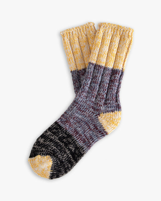 Thunders Love Helen Collection Socks - Yellow Love 0370219 Thunders Love Socks