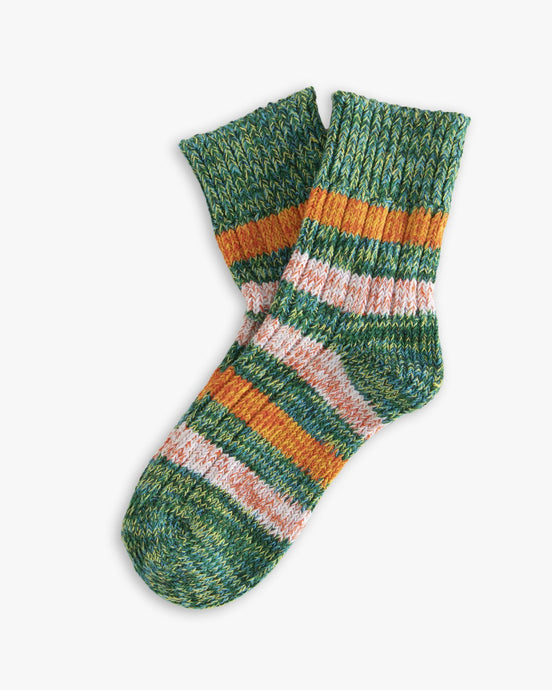 Thunders Love Island Collection Socks - Brooklyn Green 0240119 Thunders Love Socks