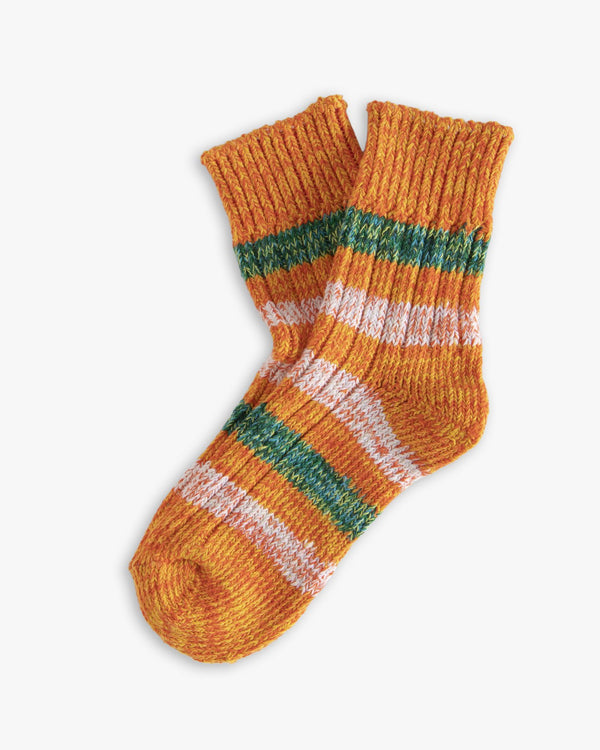 Thunders Love Island Collection Socks - Japanese Orange 0280119 Thunders Love Socks