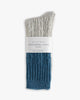 Thunders Love Wool Collection Socks - Cable Knit Blue 0030120 Thunders Love Socks