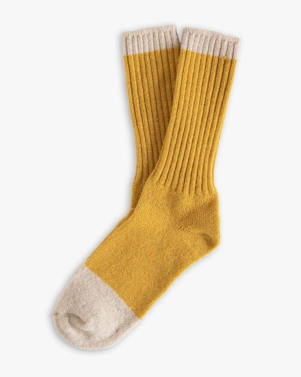 Thunders Love Wool Collection Socks - Mustard 0490219 Thunders Love Socks