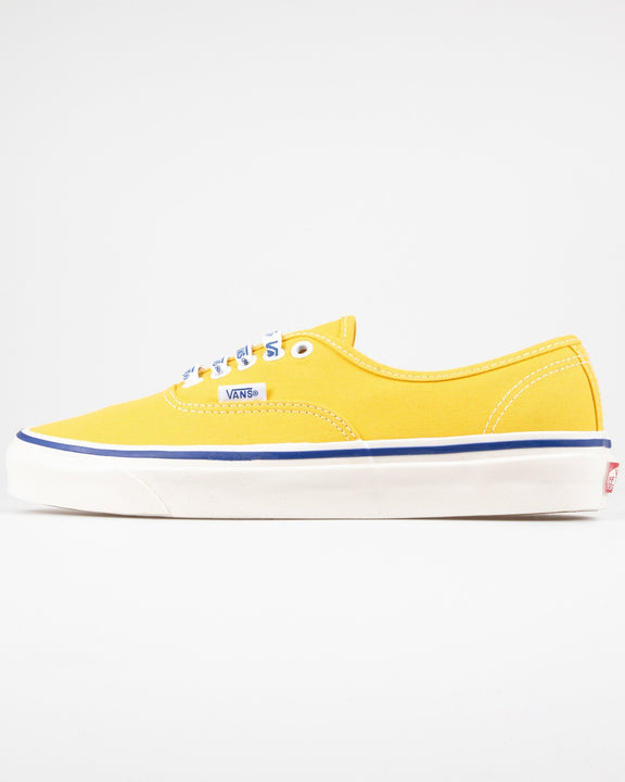 Vans Authentic 44 DX Anaheim Factory - OG Yellow / OG Vans Lace UK 7 VN0A38ENWOA7 Vans Trainers