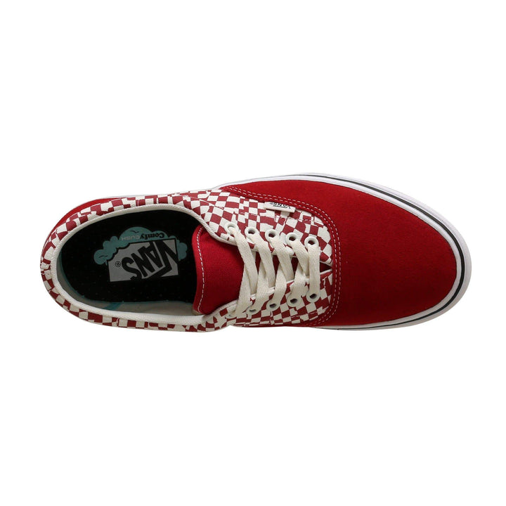 Vans Comfycush Era (Tear Check) - Racing Red / True White Vans Trainers