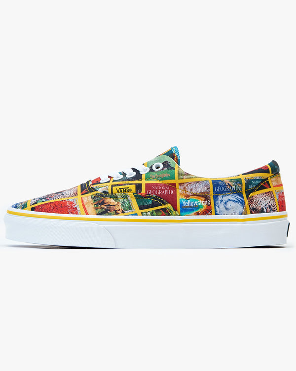Vans x National Geographic Era - Multi Covers / True White UK 7 VN0A4U39WJZ7 Vans Trainers
