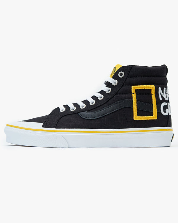 Vans x National Geographic SK8-Hi Reissue 138 - Black / Logo UK 7 VN0A3TKPXHP7 Vans Trainers