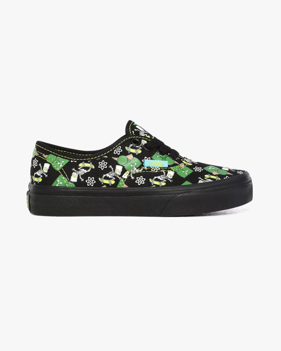 Vans x The Simpsons Kids Authentic - Glow Bart Vans Trainers