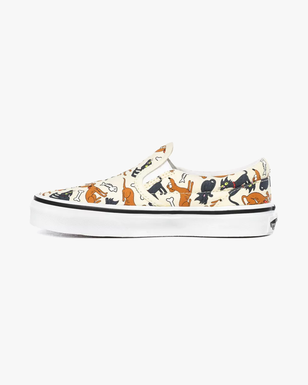 Vans x The Simpsons Kids Classic Slip-On - Family Pets C10 VN0A4BUT0JE1C10 Vans Trainers