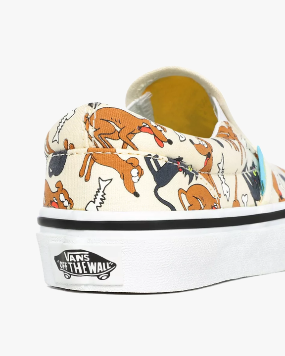 Vans x The Simpsons Kids Classic Slip-On - Family Pets Vans Trainers
