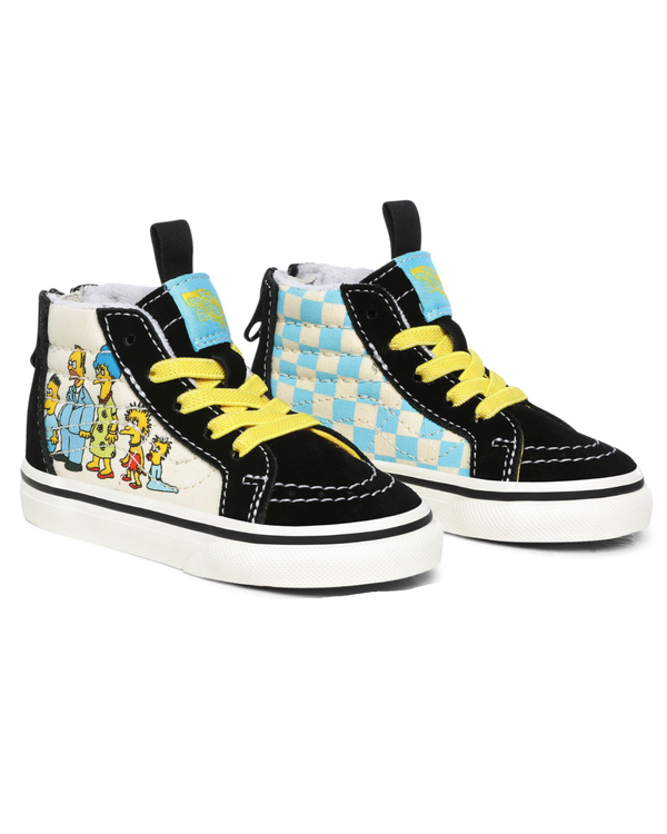 Vans x The Simpsons Toddlers SK8-Hi - The Simpsons 1987-2020 C4 VN0A4BV117EC4 192824790844 Vans Trainers