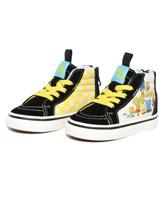 Vans x The Simpsons Toddlers SK8-Hi - The Simpsons 1987-2020 Vans Trainers