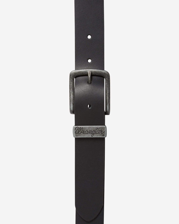 Wrangler Basic Metal Loop Belt - Black 100cm / 38in W0080US0138 5414936715948 Wrangler Belts Wrangler Basic Metal Loop Belt - Black - Jeans and Street Fashion from Jeanstore