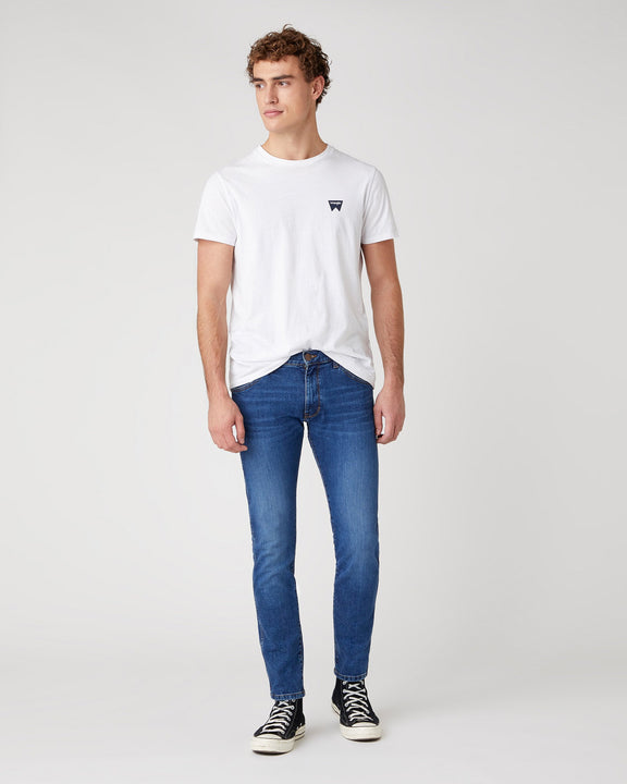 Wrangler S/S Sign Off Tee - White Wrangler T Shirts