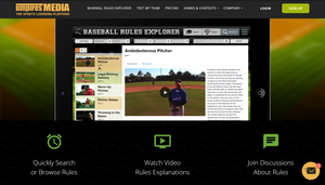 Baseball Rules Explorer - Sports Byline USA Special