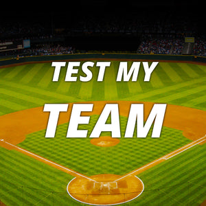 Test My Team / 25 For $25 / Coach Account (1-Year Subscription)