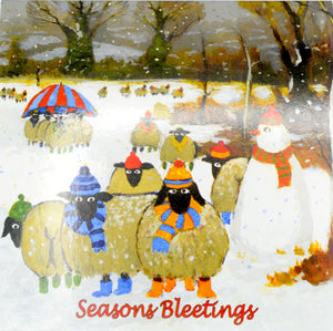 Ewe Christmas Card set