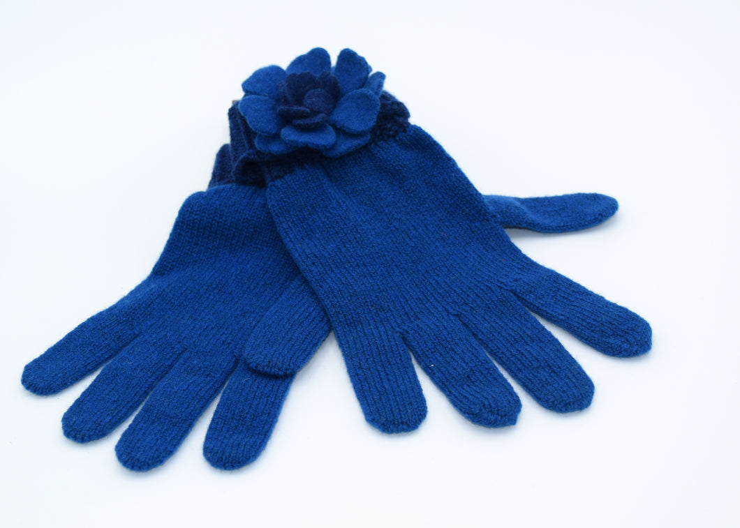 Floral Gloves by Aine