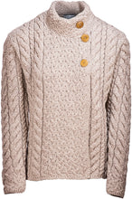 Button Top Supersoft Ladies Marino Cardigan