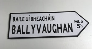 Souvenir Traditional Irish Road Sign