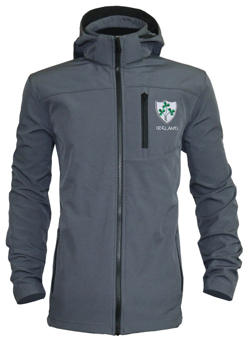Rugby Shamrock Hooded Shell Jacket