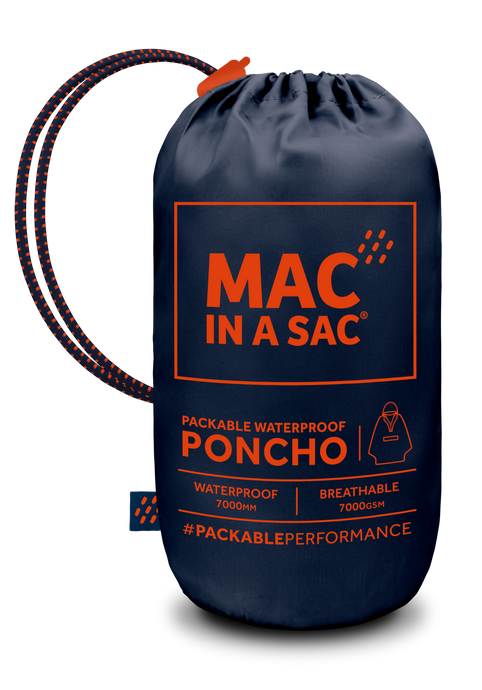 Mac in a Sac UNISEX Waterproof Poncho