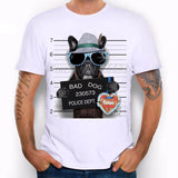 "New! Funny ""Bad Dog"" Hipster Men's Tees"
