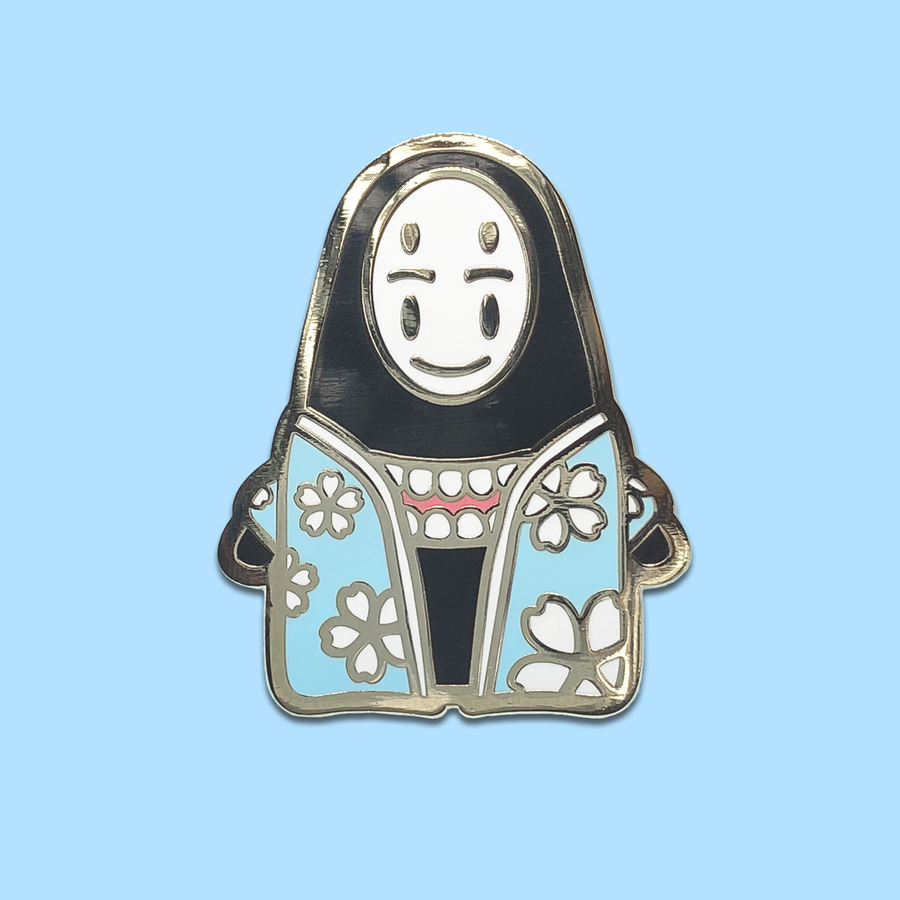 Onsen No-Face ✦ Enamel Pin
