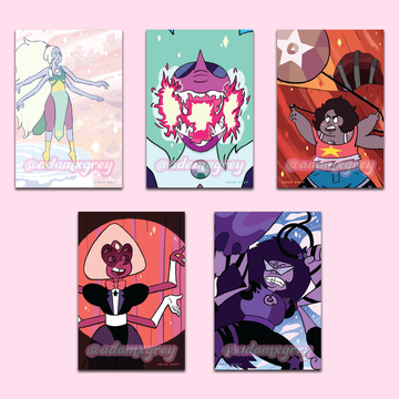 Crystal Gem Fusions ✦ Art Prints