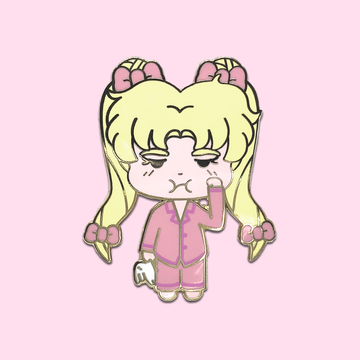 Sleepy Usagi ✦ Enamel Pin