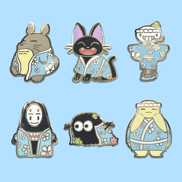 Spirit Onsen ✦ Pin Set