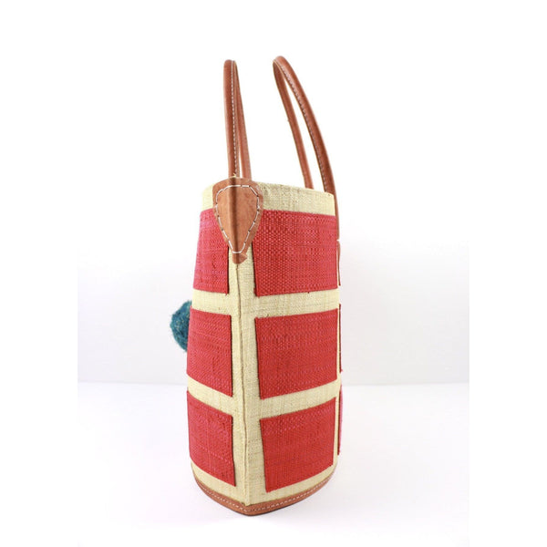 Meena Carpri Squares Beach Bag