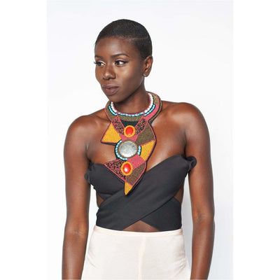 Ethnic Tribal Necklace - Trufacebygrace