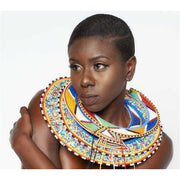 African Maasai Necklace/Wedding Beaded Necklace