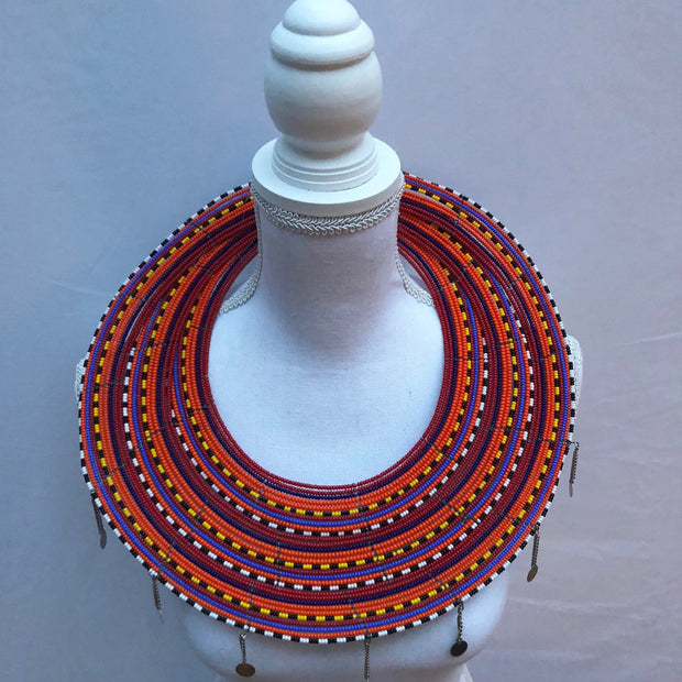 Kenyan Maasai Wedding Set