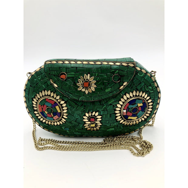 Metal Bag Green Adum - Trufacebygrace