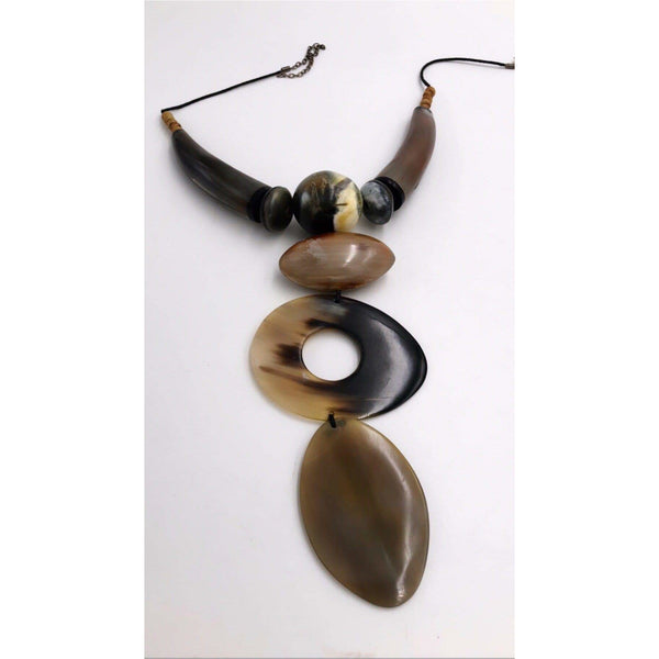 Saleema horn Necklace - Trufacebygrace