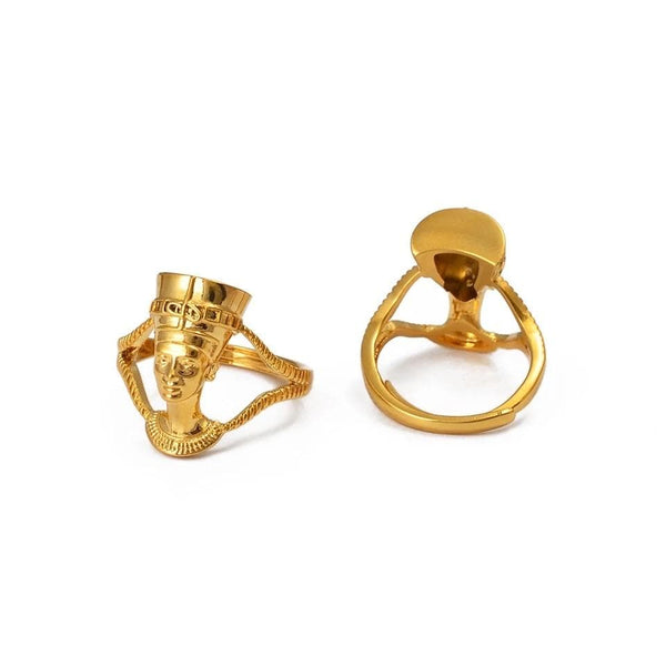Queen Nefertiti Head Ring - PRE-ORDERS ONLY