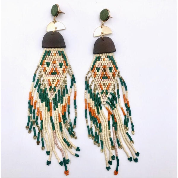 Nokwari statement Earrings - Trufacebygrace