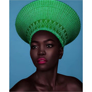 CLEARANCE SALE! Zulu Basket hat- No Beading