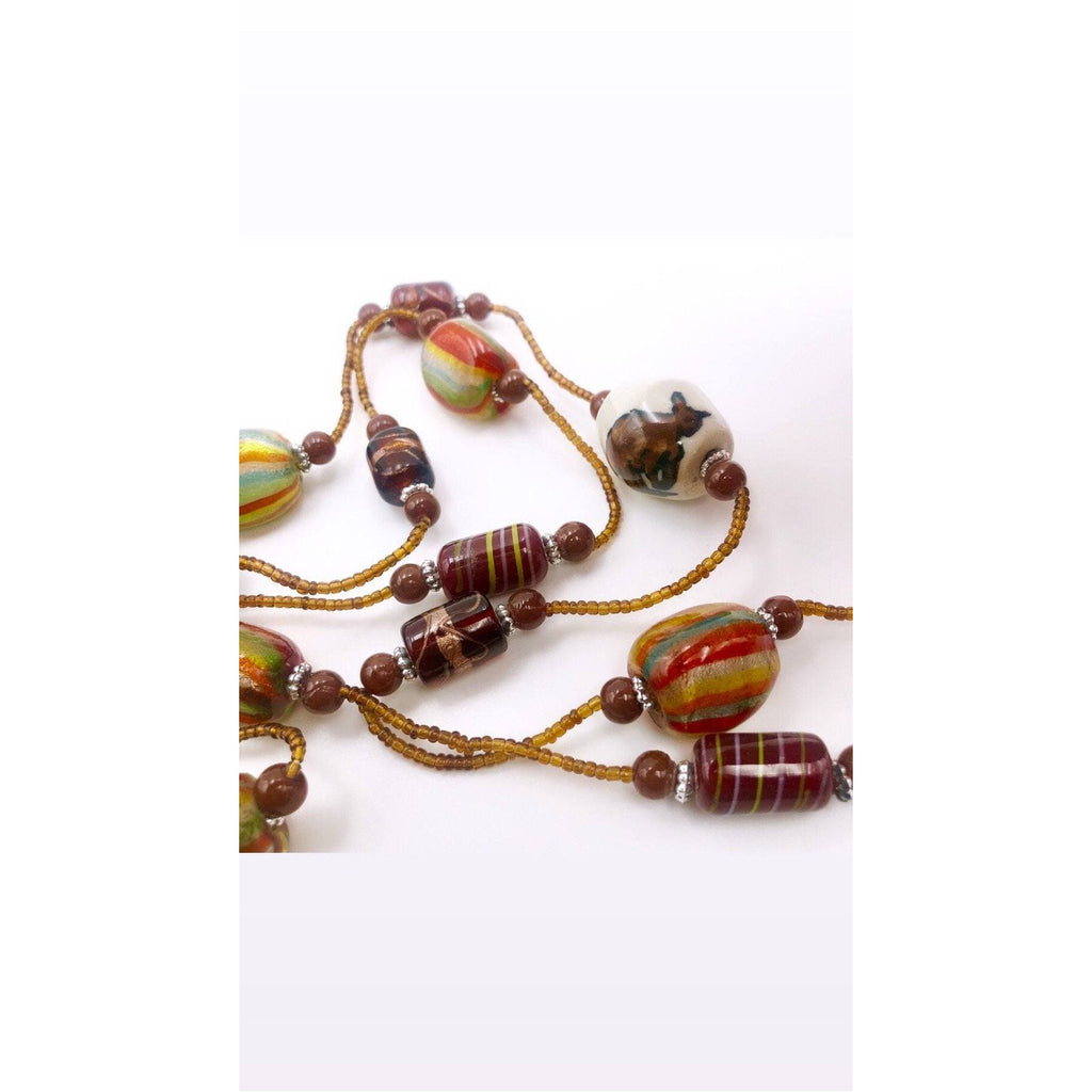 Glass beads Necklace - Trufacebygrace