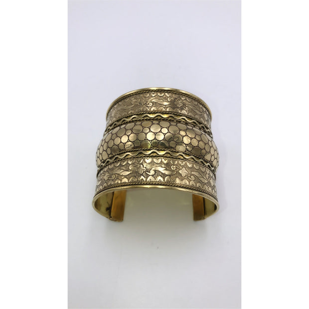 Brass Bangle - Trufacebygrace