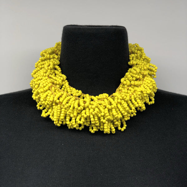 Obaapa Beaded necklace - Trufacebygrace