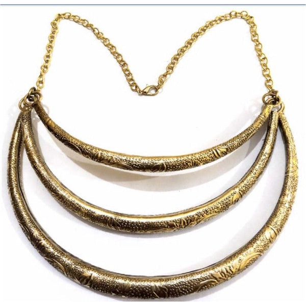 Gold Ring Chokers - Trufacebygrace
