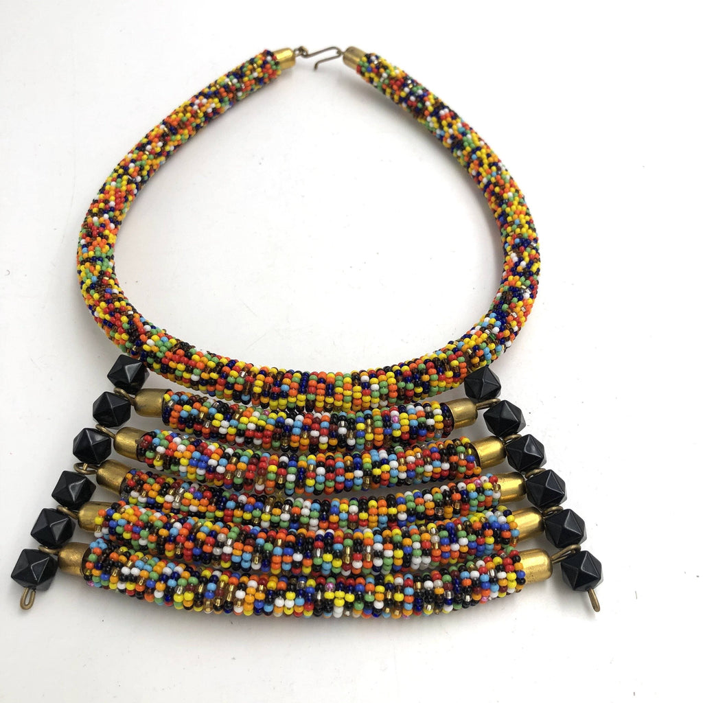 A collection of Beaded Necklace Goodness - Trufacebygrace